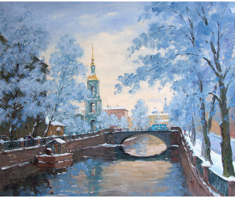 Kryukov river. St.Petersburg