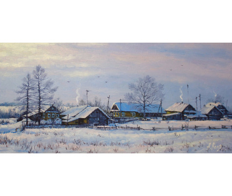 Alexandrovka Village. Winter