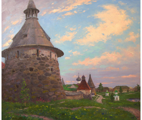 Solovki. Twilight summer
