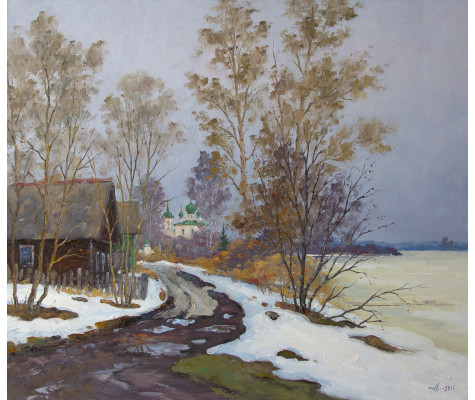 Spring in Old Ladoga