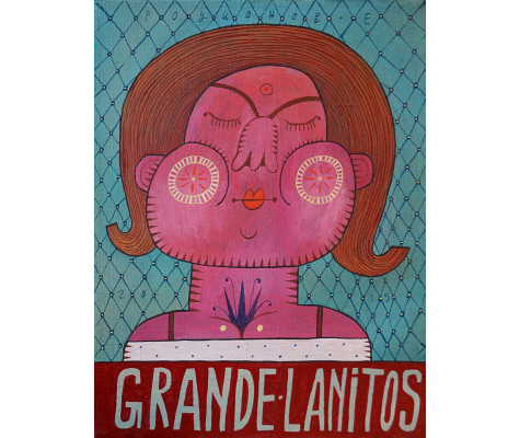Your lovely big cheeks. Grande Lanitos
