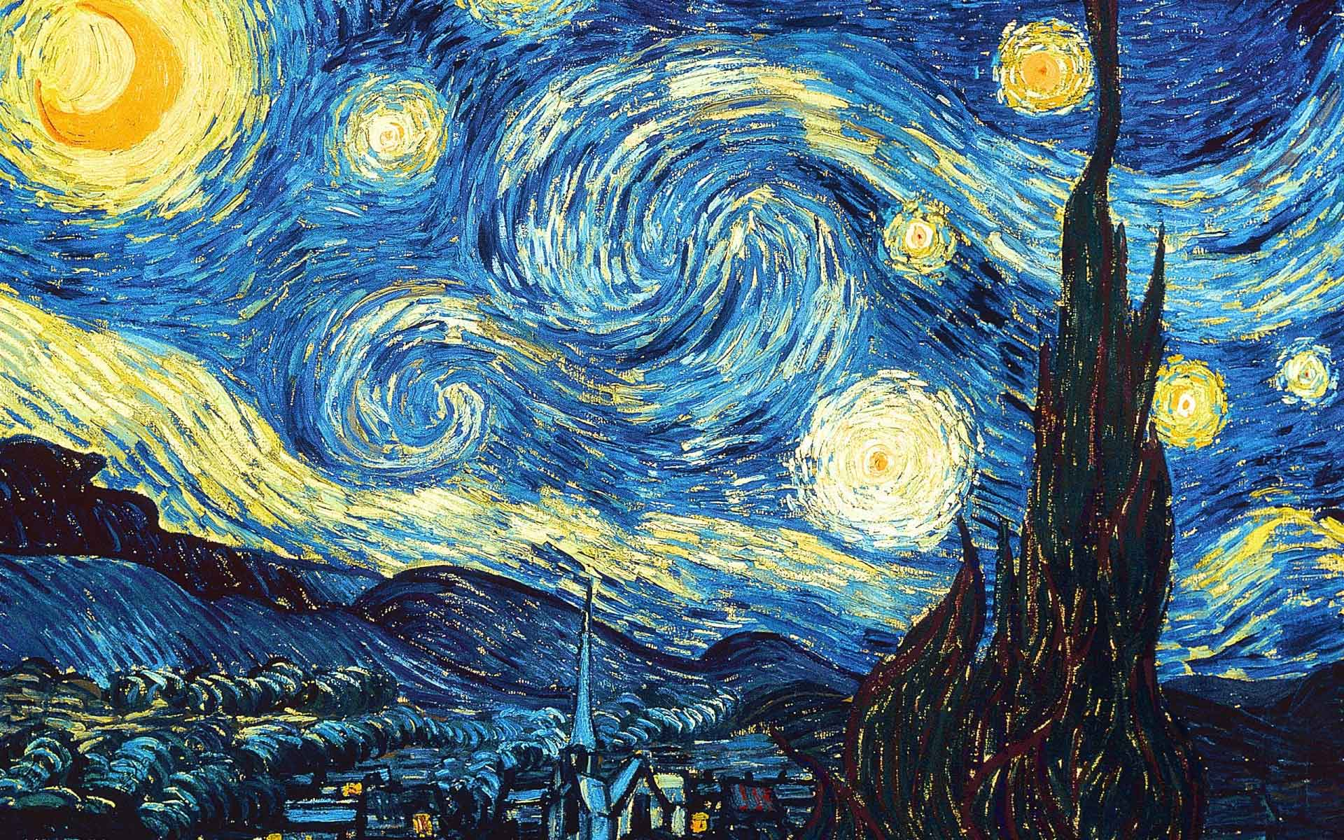 Vincent van Gogh. The Starry night